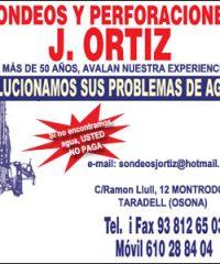 Taradell Perforaciones Pozos J Ortiz