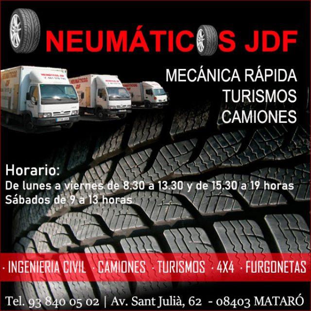 Granollers Taller Mecánica Rápida Neumáticos JDF