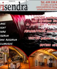 Aiguamúrcia Vins Vinyes Ecològiques Bodegues Visendra