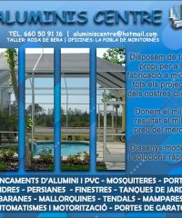 Roda  Berà Alumini Pvc Aluminis Centre