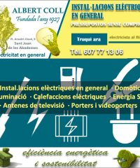 Electricitat Antenes Sant Joan Abadesses AlbertColl