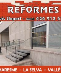 Reformes Lluís Llopart Tordera