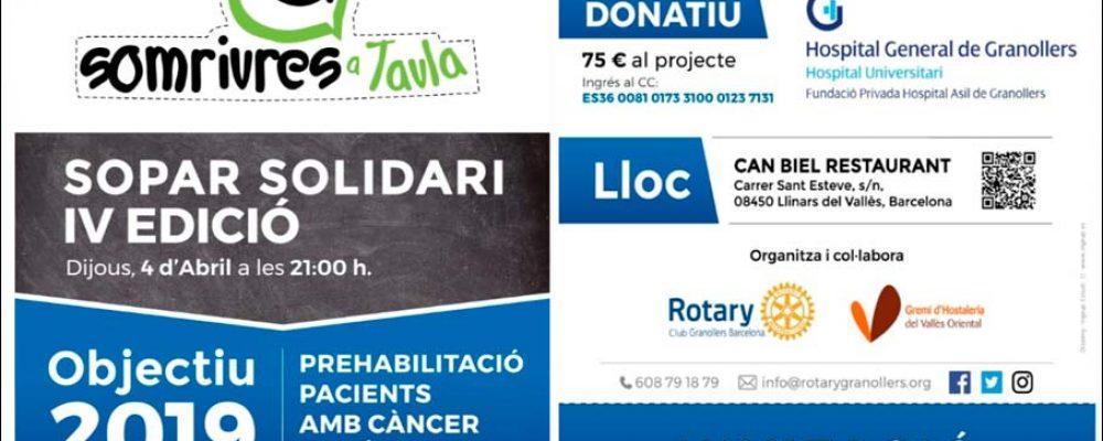 Càncer Còlon Sopar Solidari
