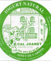 Iogurts Formatges Ainet Cardós Cal Joanet