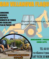 Maresme Jardineria Enderrocs Excavacions Villanova
