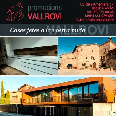 Navàs Immobiliària Construccions Promocions Vallrovi