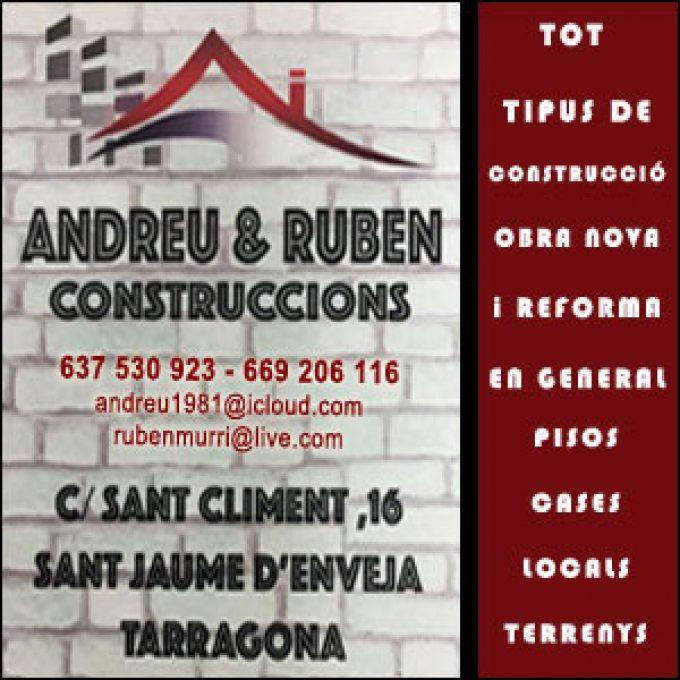 Construccions Sant Jaume Enveja Andreu Ruben