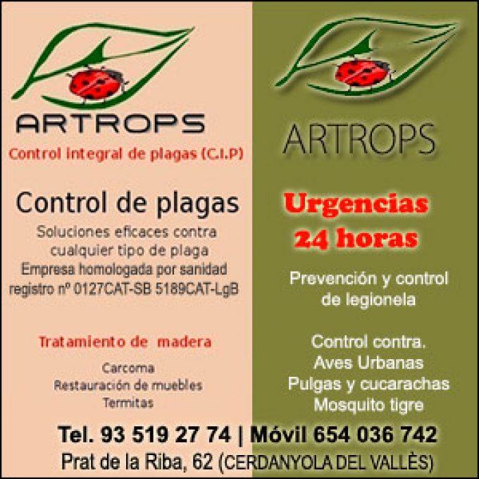Artrops Control de Plagas Cerdanyola