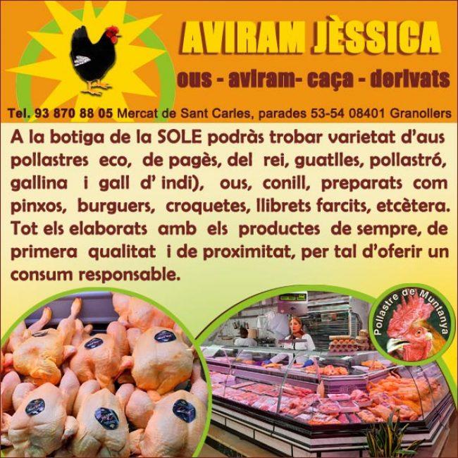 Granollers Pollería Mercat Sant Carles Aviram Jèssica