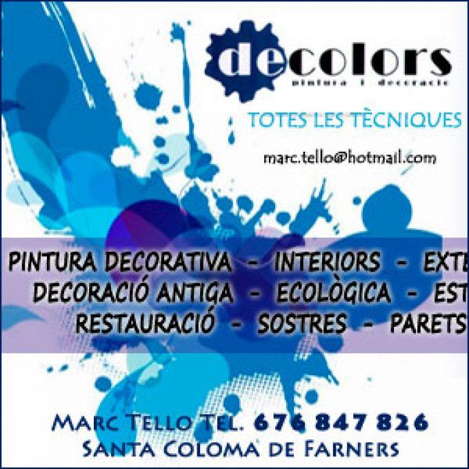 Decolors Pintors Santa Coloma Farners