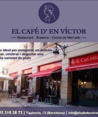 Restaurant Cafè Víctor Barcelona Barri Gòtic