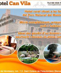 Palautordera Montseny Hotel Rural Hípica CanVila