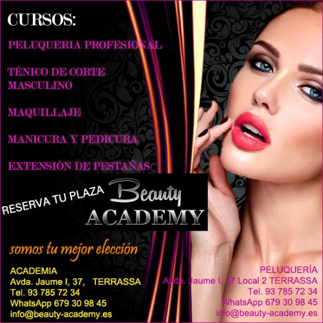 Terrassa Academia Peluqueria Beauty Academy