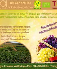 Batea Vins Ecològics Vegans Celler Arrufí