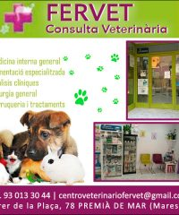 Premià Veterinari Perruqueria Canina Maresme Fervet