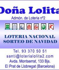 Lotería Doña Lolita el Prat de Llobregat