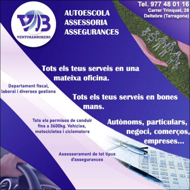 Deltebre Autoescola Assegurances Gestoria Ventura Brokers