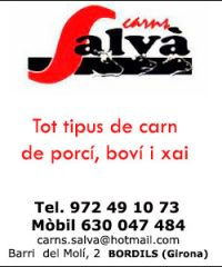 Carns Salvà Bordils Girona