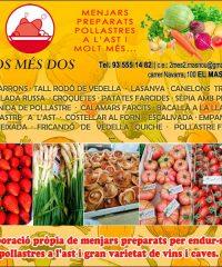 Masnou Pollastres Ast Menjars Preparats DosMésDos: