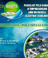 EcoBoats Empuriabrava Lloguer Embarcacions