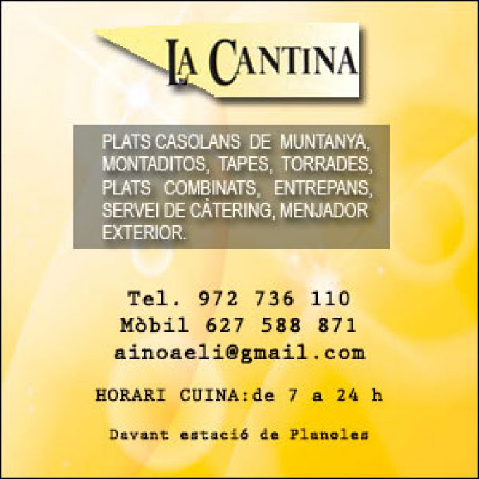 Restaurant la Cantina de Planoles