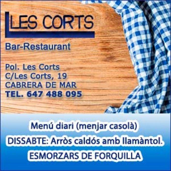 Restaurant Les Corts Cabrera