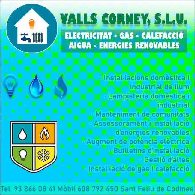 Electricitat Lampista Feliu Codines Valls Corney