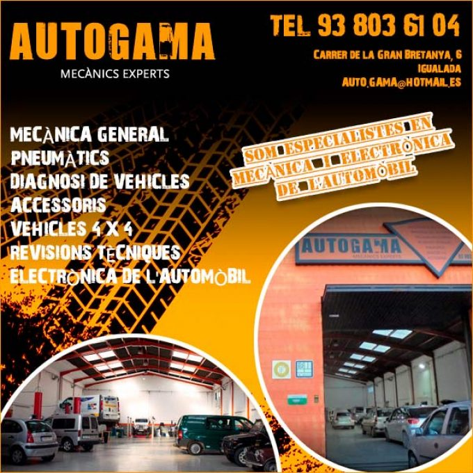 Igualada Automòbil Taller Mecànic Autogama