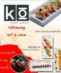 Figueres Sushi Gastrobar Restaurant Kombu