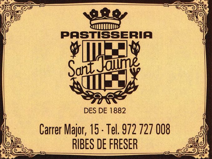 Pastisseria Forn Sant Jaume Ribes Freser
