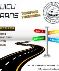 Vallès Oriental Transports Missatgeria Quicu Trans