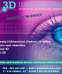 Lleida 3D Telemetria Làser Realitat Virtual
