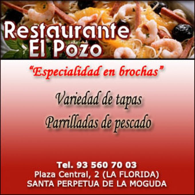 Santa Perpetua Brochas Mariscadas Restaurante ElPozo