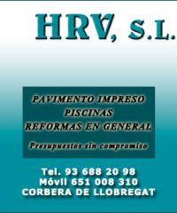 Pavimento Impreso Corbera HRV
