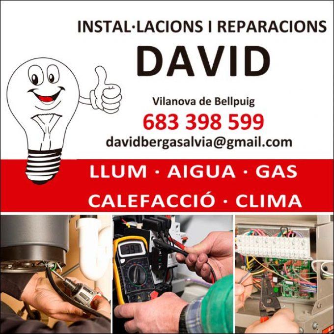 Vilanova Bellpuig Instal·lacions David