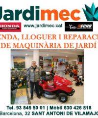 Sant Antoni Vilamajor Eines Maquinària Jardineria Jardimec