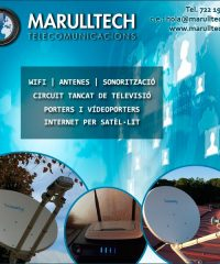 Antenes Hostalric Marulltech Telecomunicacions