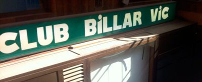 club billar vic